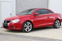 2008 Volkswagen EOS  Red Sports Automatic Dual Clutch Convertible Devonport Devonport Area Preview