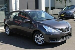 2014 Nissan Pulsar C12 ST Grey 1 Speed Constant Variable Hatchback Wolli Creek Rockdale Area Preview