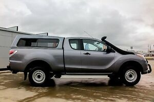 2013 Mazda BT-50 UP0YF1 XT 4x2 Hi-Rider Grey 6 Speed Manual Utility Pakenham Cardinia Area Preview