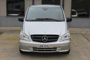 2012 Mercedes-Benz Valente Silver 5 Speed Automatic Wagon Blacktown Blacktown Area Preview