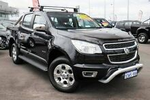 2012 Holden Colorado RG LTZ (4x4) Black 5 Speed Manual Crewcab Wangara Wanneroo Area Preview