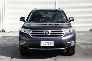 2011 Toyota Kluger GSU45R MY11 Grande AWD Grey 5 Speed Sports Automatic Wagon Seaford Frankston Area Preview