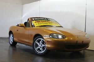 1999 Mazda MX-5 NB Gold 4 Speed Automatic Convertible Underwood Logan Area Preview