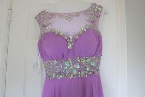 Purple Dress designed by Jimmy Lee