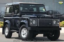 2011 Land Rover Defender 90 12MY Grey 6 Speed Manual Wagon Glendalough Stirling Area Preview
