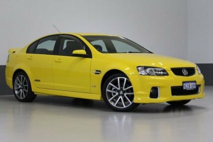 2011 Holden Commodore VE II SS-V Yellow 6 Speed Automatic Sedan Bentley Canning Area Preview