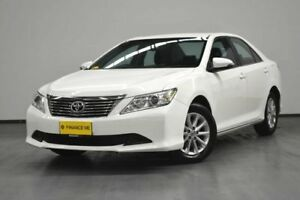2014 Toyota Aurion GSV50R AT-X White 6 Speed Sports Automatic Sedan