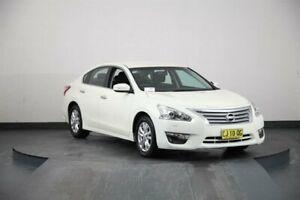 2016 Nissan Altima L33 ST White Continuous Variable Sedan