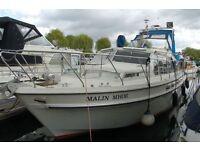 Broom Ocean 37 Motorboat/Liveaboard