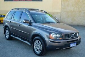 2008 Volvo XC90 MY09 D5 Grey 6 Speed Automatic Geartronic Wagon Rockingham Rockingham Area Preview