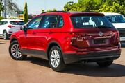 2017 Volkswagen Tiguan 5N MY17 110TSI DSG 2WD Trendline Red 6 Speed Sports Automatic Dual Clutch Cannington Canning Area Preview