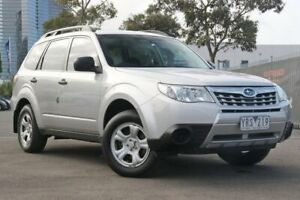 2011 Subaru Forester S3 MY11 X AWD Silver 4 Speed Sports Automatic Wagon Docklands Melbourne City Preview