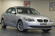 2008 BMW 530i E60 MY08 Steptronic Silver 6 Speed Sports Automatic Sedan Chatswood Willoughby Area Preview