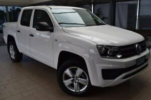 2018 Volkswagen Amarok 2H MY18 TDI420 4MOTION Perm Core White 8 Speed Automatic Utility