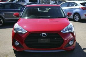 2013 Hyundai Veloster FS2 SR Coupe Turbo Red 6 Speed Manual Hatchback