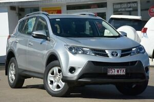 2015 Toyota RAV4 ZSA42R MY14 GX 2WD Silver Pearl 7 Speed Constant Variable Wagon Woolloongabba Brisbane South West Preview