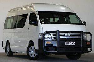2012 Toyota Hiace KDH223R MY12 Upgrade Commuter White 5 Speed Manual Bus Coopers Plains Brisbane South West Preview