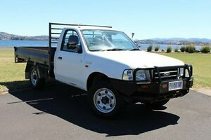 2004 Ford Courier PH GL White 5 Speed Manual Cab Chassis Invermay Launceston Area Preview