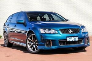 2012 Holden Commodore VE II MY12 SS V Sportwagon Blue 6 Speed Sports Automatic Wagon