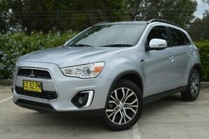 2015 Mitsubishi ASX XB MY15 LS 2WD Silver 6 Speed Constant Variable Wagon Maitland Maitland Area Preview