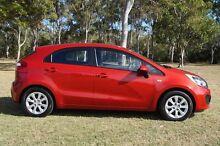 2011 Kia Rio JB MY11 S Red 5 Speed Manual Hatchback Bundaberg West Bundaberg City Preview