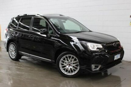 2016 Subaru Forester S4 MY16 tS CVT AWD Black 8 Speed Constant Variable Wagon Burnie Area Preview