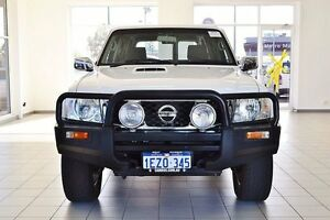 2011 Nissan Patrol GU VII ST (4x4) White 4 Speed Automatic Wagon Morley Bayswater Area Preview