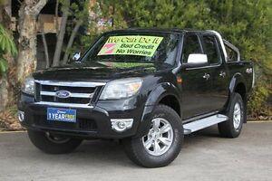 2011 Ford Ranger PK XLT Crew Cab Black 5 Speed Manual Utility