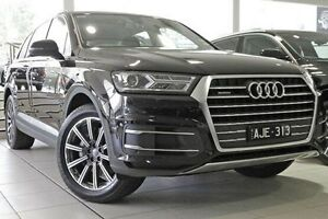2016 Audi Q7 4M MY16 TDI Tiptronic Quattro Black 8 Speed Sports Automatic Wagon North Melbourne Melbourne City Preview