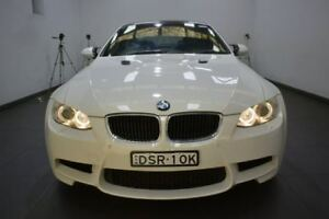 2010 BMW M3 E92 MY10 M-DCT White 7 Speed Sports Automatic Dual Clutch Coupe