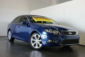 2010 Ford Falcon FG G6 Limited Edition Blue 5 Speed Automatic Sedan Underwood Logan Area Preview