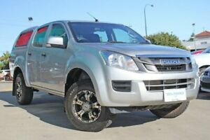 2015 Isuzu D-MAX TF MY15 SX (4x4) Silver 5 Speed Automatic Crew Cab Utility Victoria Park Victoria Park Area Preview