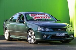 2006 Ford Falcon BF Mk II XR6 Green 6 Speed Sports Automatic Sedan Ringwood East Maroondah Area Preview