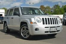 2010 Jeep Patriot MK MY2010 Sport Silver 5 Speed Manual Wagon Nailsworth Prospect Area Preview