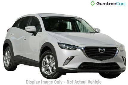 2018 Mazda CX-3 DK2W7A Maxx SKYACTIV-Drive White Pearl 6 Speed Sports Automatic Wagon