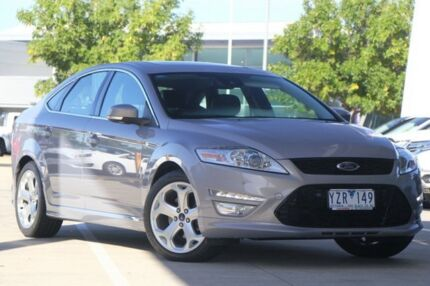 2012 Ford Mondeo MC Titanium PwrShift TDCi Grey 6 Speed Sports Automatic Dual Clutch Hatchback Airport West Moonee Valley Preview