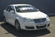 2006 Volkswagen Jetta 1KM MY07 FSI White 6 Speed Manual Sedan Blair Athol Port Adelaide Area Preview