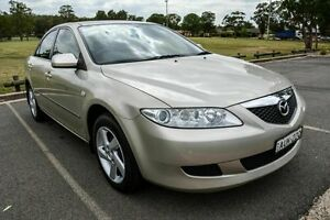 2005 Mazda 6 GG Classic Gold 4 Speed Auto Activematic Sedan Wetherill Park Fairfield Area Preview