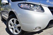 2009 Hyundai Santa Fe CM MY09 Elite Sleek Silver 5 Speed Sports Automatic Wagon Southport Gold Coast City Preview