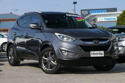 2013 Hyundai ix35 LM2 Elite Grey 6 Speed Sports Automatic Wagon Hillcrest Logan Area Preview