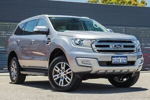 2015 Ford Everest UA Trend Silver 6 Speed Sports Automatic Wagon Maddington Gosnells Area Preview