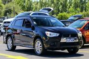 2012 Mitsubishi ASX XA MY12 Activ 2WD Black 5 Speed Manual Wagon Ringwood East Maroondah Area Preview