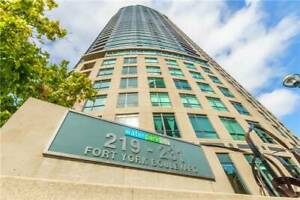 Rent - Downtown Waterfront - Large one bedroom with Parking