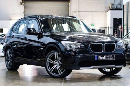 2011 BMW X1 E84 MY11 xDrive20d Steptronic Black 6 Speed Sports Automatic Wagon Port Melbourne Port Phillip Preview
