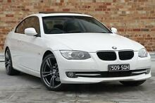 2011 BMW 320D E92 MY11 Steptronic White 6 Speed Sports Automatic Coupe North Melbourne Melbourne City Preview