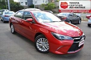 2015 Toyota Camry Red Sports Automatic Sedan Taringa Brisbane South West Preview