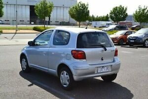 2003 Toyota Echo NCP10R Silver 4 Speed Automatic Hatchback Strathmore Heights Moonee Valley Preview