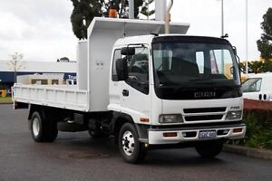 2001 Isuzu F Series  White Welshpool Canning Area Preview