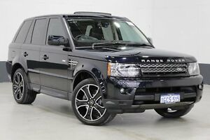 2013 Land Rover Range Rover MY12 Sport 3.0 SDV6 Luxury Blue 6 Speed Automatic Wagon Bentley Canning Area Preview