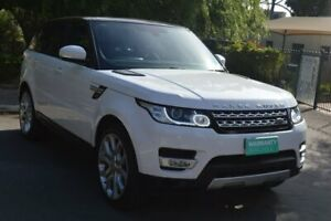 2014 Land Rover Range Rover Sport L494 MY14.5 HSE White 8 Speed Sports Automatic Wagon Norwood Norwood Area Preview